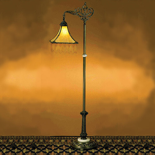 Amber Park Bridge Floor Lamp