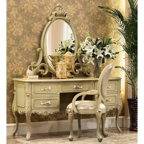 Margot Dressing Table (Mirror and Chair extra)