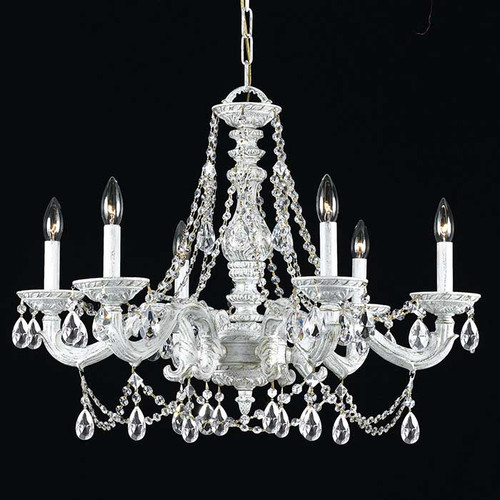 White Crystal Large Chandelier