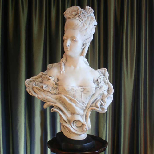 French Noblewoman Bust