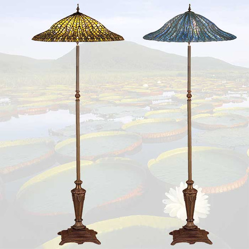 Lotus Leaf Floor Lamp