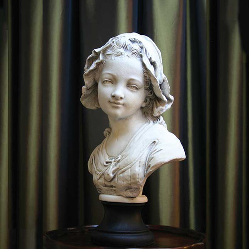 Girl with Bonnet Bust