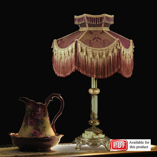 Royal Tassels Lamp