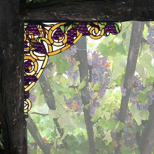 Grapevine Corner Brackets (Set of 2)