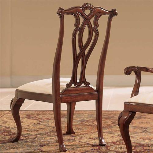 Cherry Lane Pierced-Back Side Chair