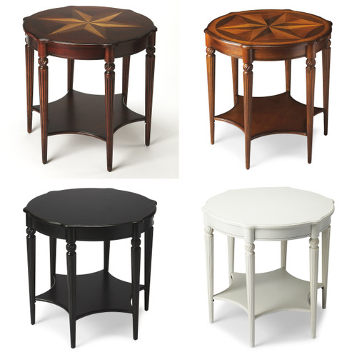 Bridge Accent Table - Available in a all 4 finishes!