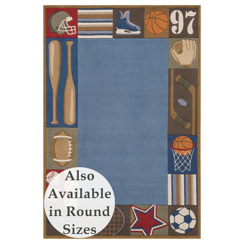 All Star Denim Rug