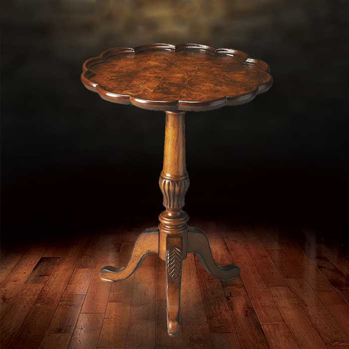 Burl Accent Table
