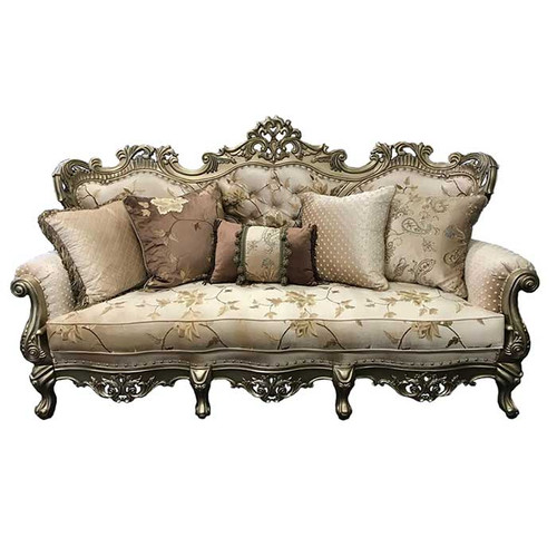 Antique Silver option, pillows included!