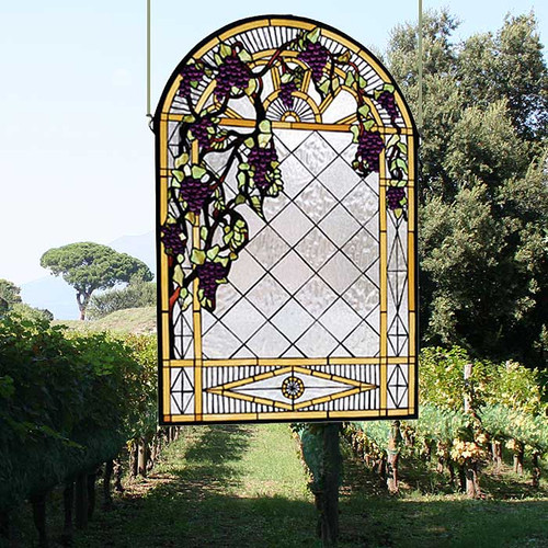 Victorian Arbor Stained Glass