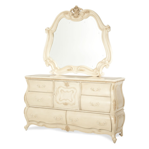 Caravelle Pearl Dresser (Mirror extra)