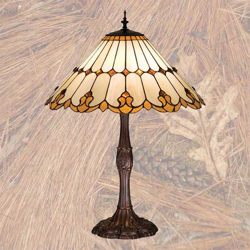 Golden Pine Table Lamp