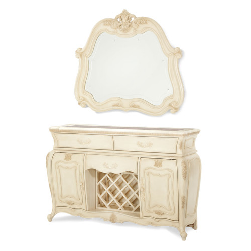 Caravelle Pearl Sideboard (Mirror extra)