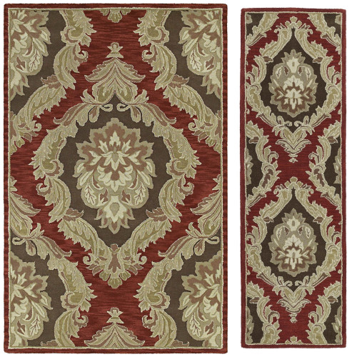 Katiana-72 Brick Red Rug