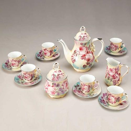 Peony Tea Set