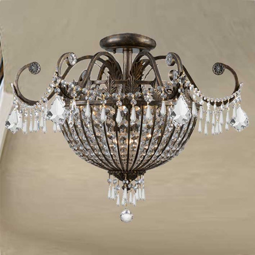 Vanderbilt Large Flush Mount