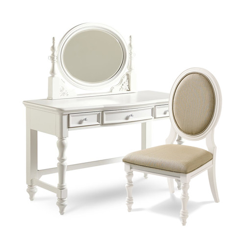 Lady Heather Desk and Chair (mirror extra)