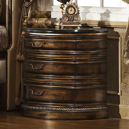 Parisian Nightstand with Granite Top*