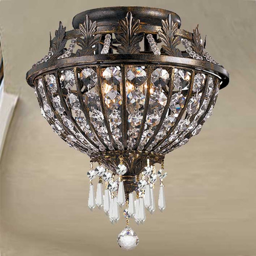 Vanderbilt Small Flush Mount