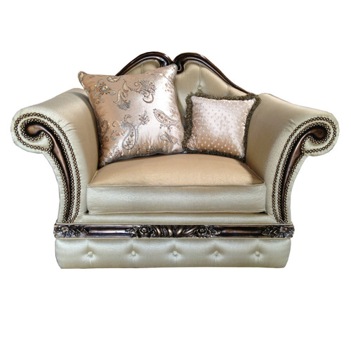 Parisian Rolled Arm Chair