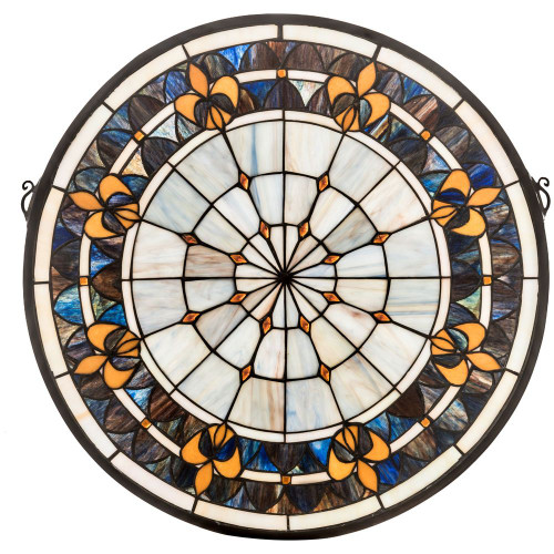Victorian Medallion Stained Glass