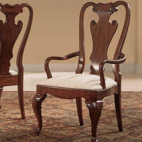 Cherry Lane Splat-Back Arm Chair