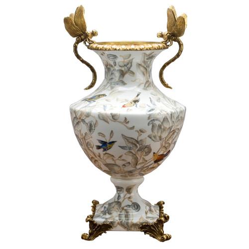 Tessa Dragonfly Vase