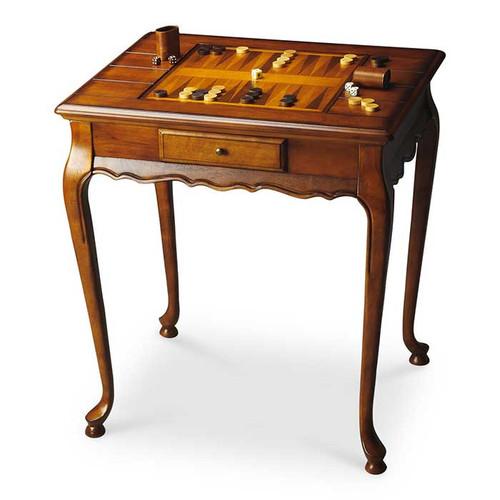 Bernard Burl Game Table
