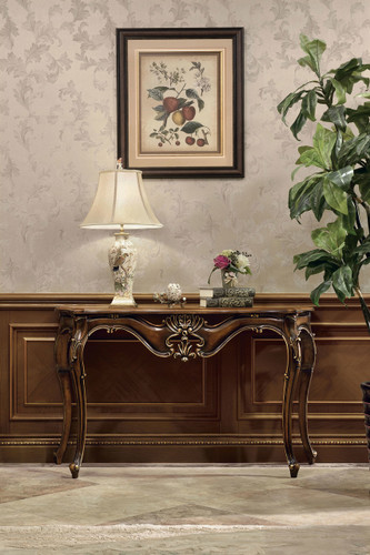 View of the Console Table.