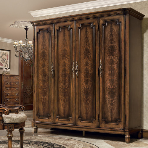 Sir Hamilton Four Door Armoire