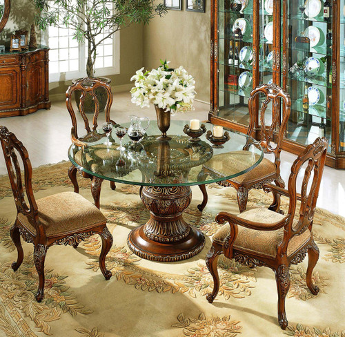 View of the Mahogany Dining Table.