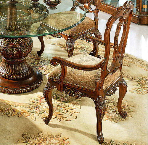 View of the Mahogany Arm Chair.