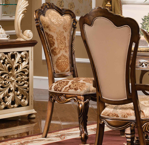 View of the Valentino Side Chair.