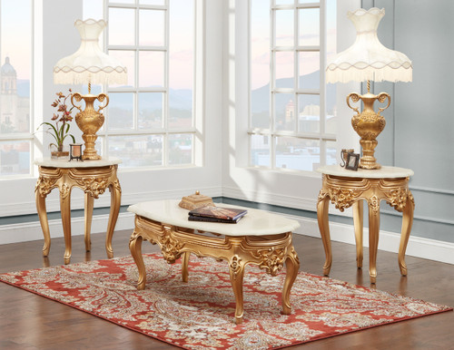 Tables in Gold Finish