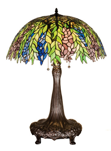 View of the Honey Locust Table Lamp.