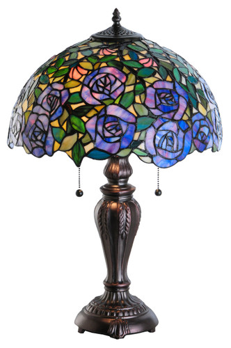 View of the Rosebush Table Lamp.