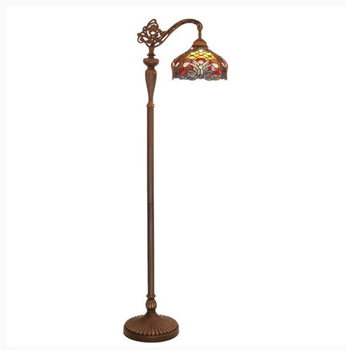 Harvest Floor Lamp with light on