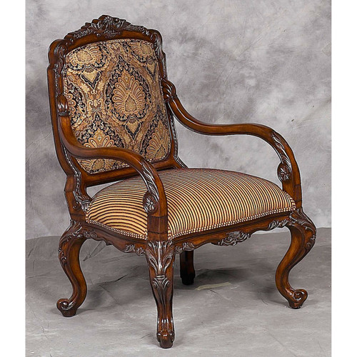 View of the Milan Accent Chair.