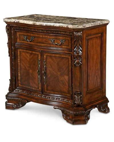 View of the Olde London Stone-Top Nightstand