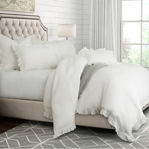 White Cherry Blossom Duvet Bedding