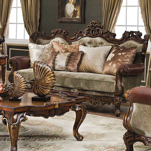 Celeste Antique Cognac Sofa