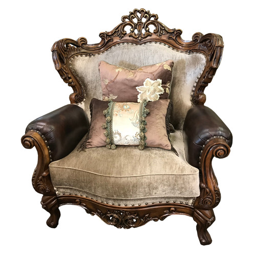 Celeste Antique Cognac Chair