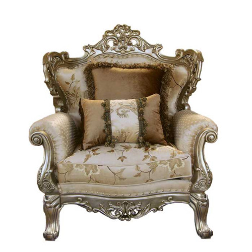 Celeste Antique Silver Chair