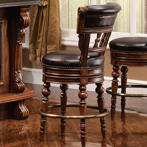 Sleepy Hollow Mocha Counter Barstool