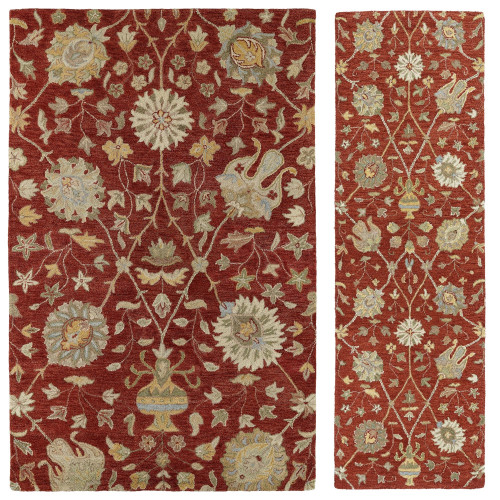 Hathaway-02 Red Rug