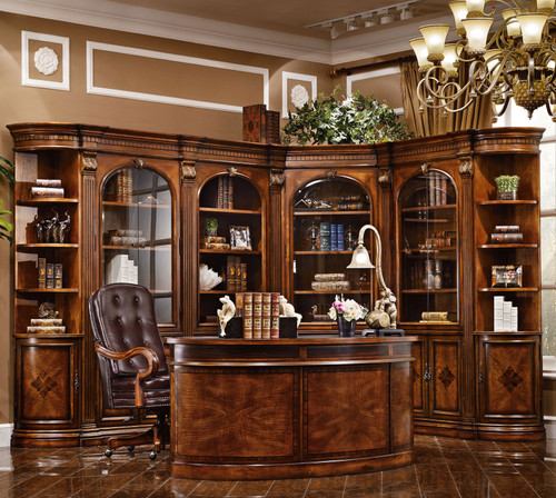 View of the Claudius Desk and Arm Chair
