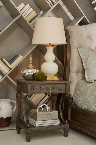 View of the Miabella Bedside Table