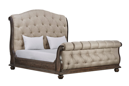 View of the Miabella Tufted Bed