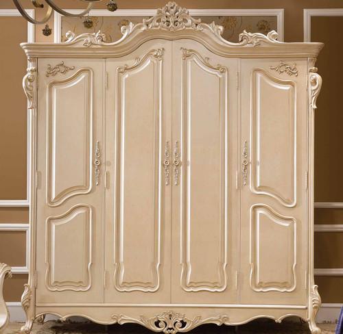 View of the Celeste 4 Door Armoire