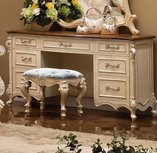 View of the Celeste Vanity Dresser